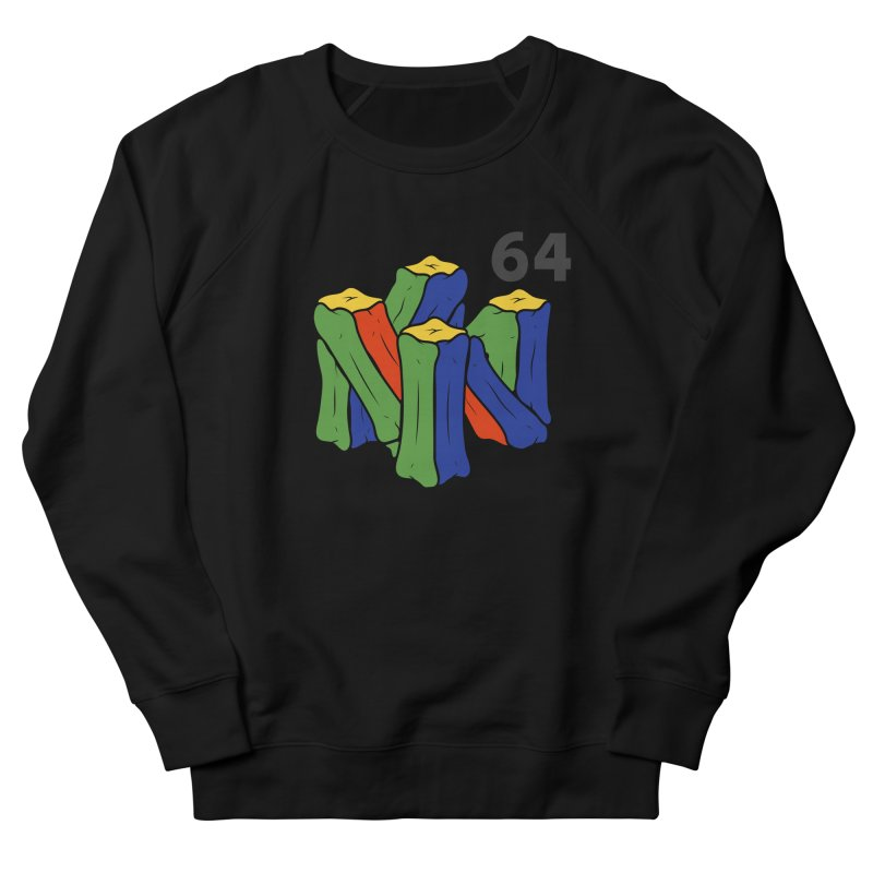 HCKD_N64 Men's French Terry Sweatshirt by UNDEAD MISTER