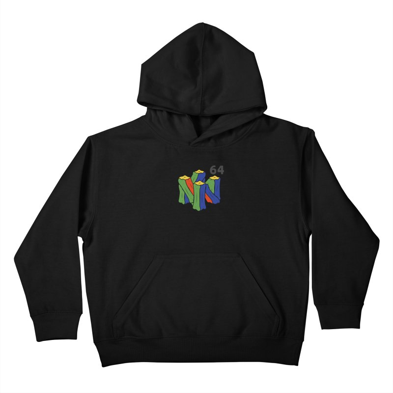 HCKD_N64 Kids Pullover Hoody by UNDEAD MISTER
