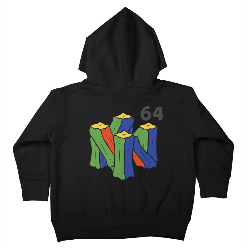HCKD_N64 Kids Toddler Zip-Up Hoody by UNDEAD MISTER
