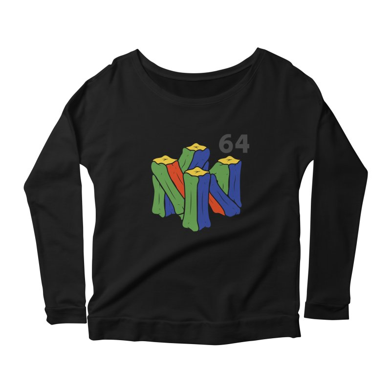 HCKD_N64 Women's Scoop Neck Longsleeve T-Shirt by UNDEAD MISTER