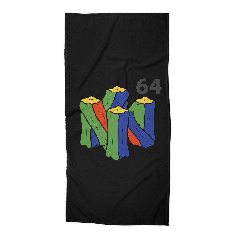 HCKD_N64 Accessories Beach Towel by UNDEAD MISTER