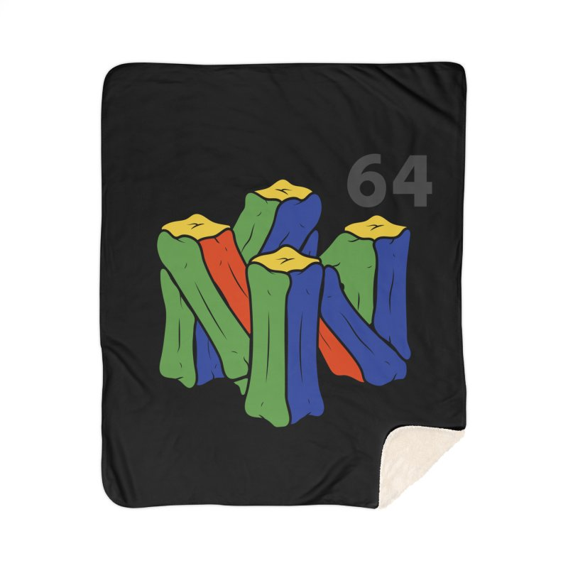 HCKD_N64 Home Sherpa Blanket Blanket by UNDEAD MISTER