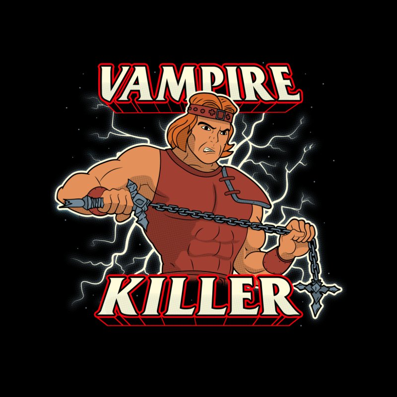VAMPIRE KILLER Men's Longsleeve T-Shirt by UNDEAD MISTER