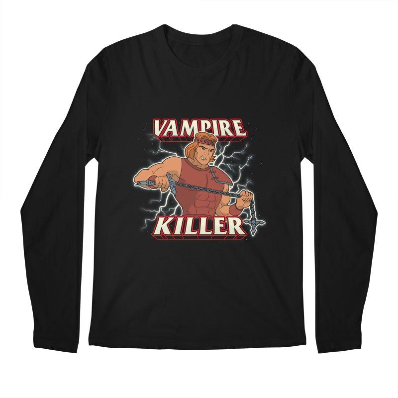 VAMPIRE KILLER Men's Longsleeve T-Shirt by UNDEAD MISTER