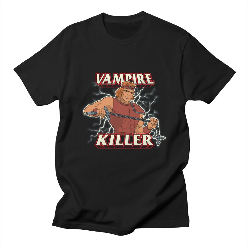 VAMPIRE KILLER Men's T-Shirt by UNDEAD MISTER