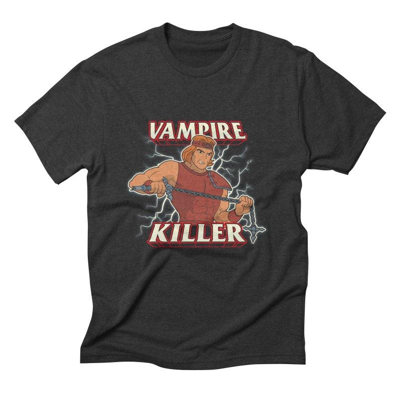 VAMPIRE KILLER Men's T-Shirt by UNDEAD MISTER