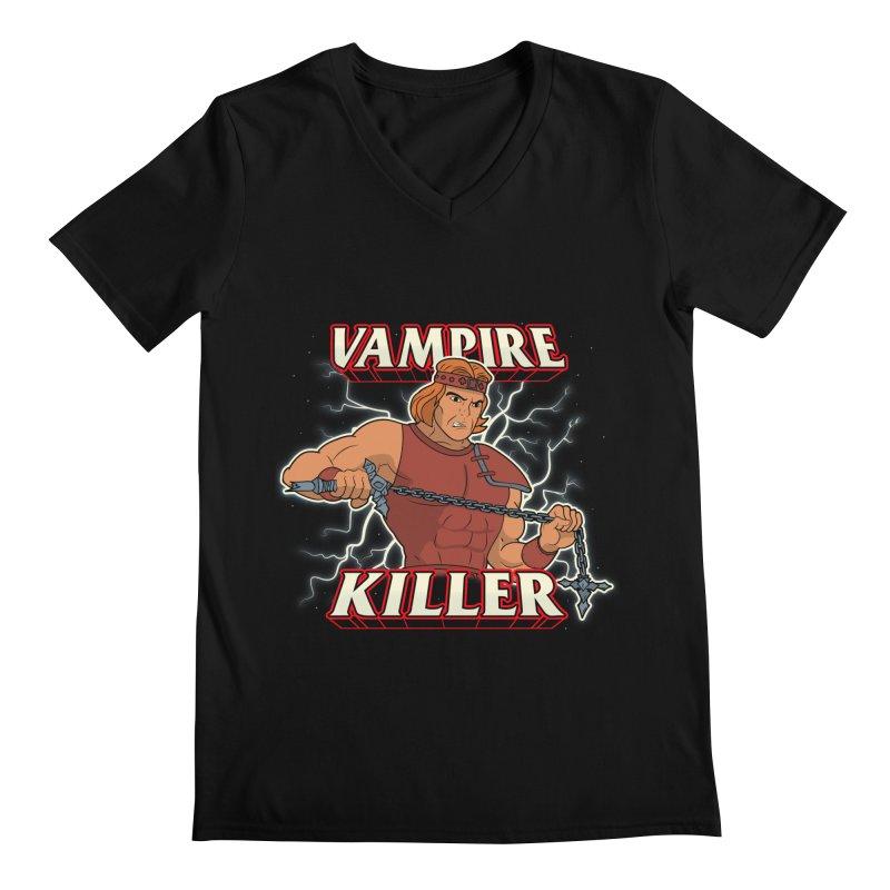 VAMPIRE KILLER Men's V-Neck by UNDEAD MISTER