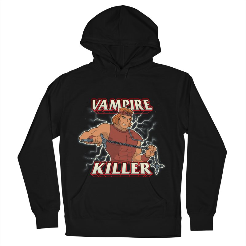 VAMPIRE KILLER Men's French Terry Pullover Hoody by UNDEAD MISTER
