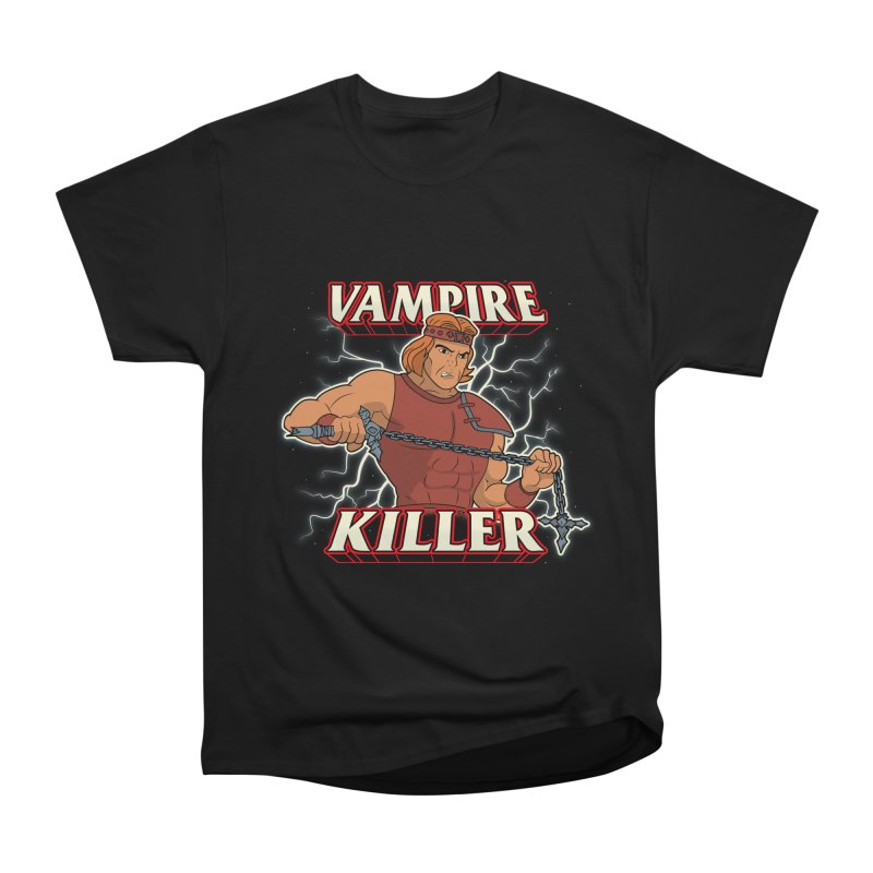 VAMPIRE KILLER Men's Heavyweight T-Shirt by UNDEAD MISTER