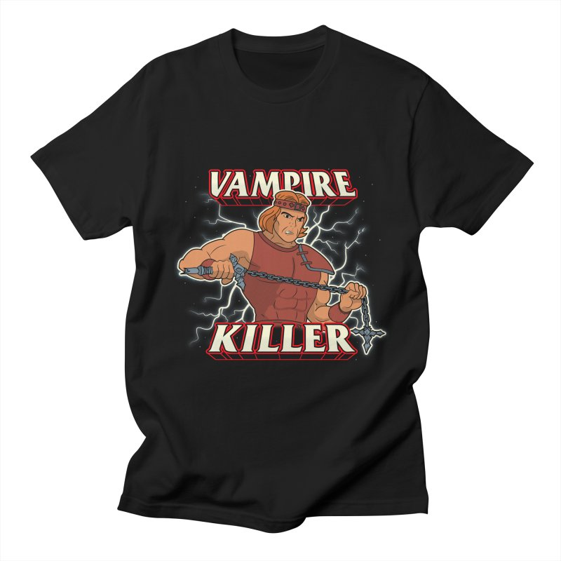 VAMPIRE KILLER Men's Regular T-Shirt by UNDEAD MISTER