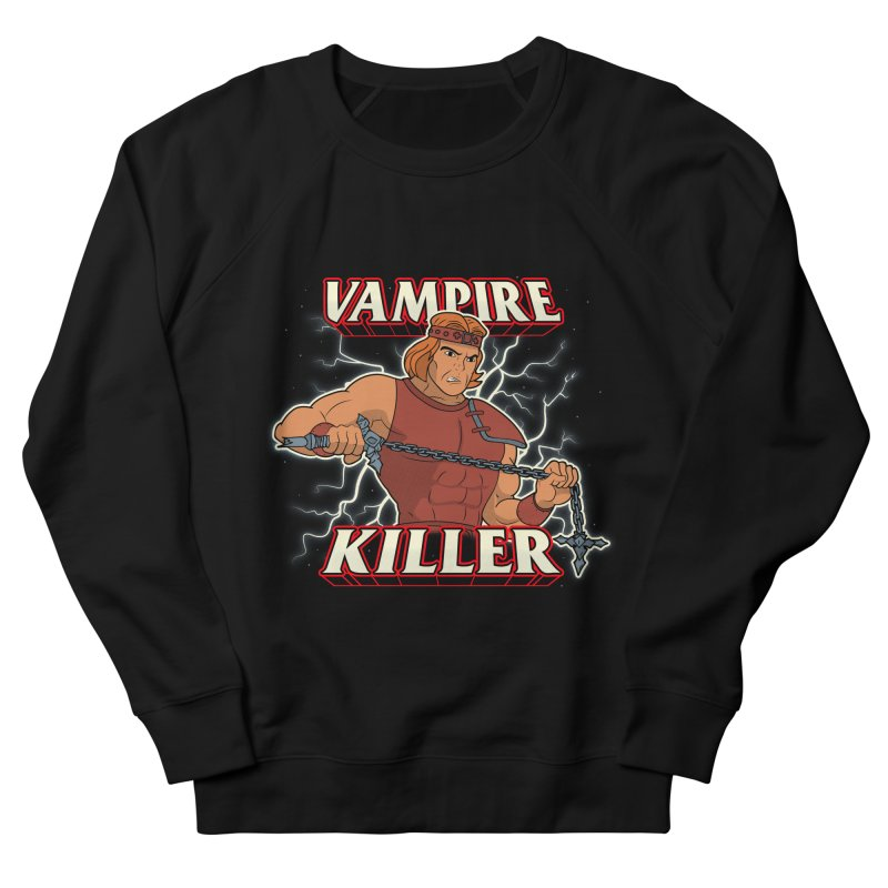 VAMPIRE KILLER Men's French Terry Sweatshirt by UNDEAD MISTER