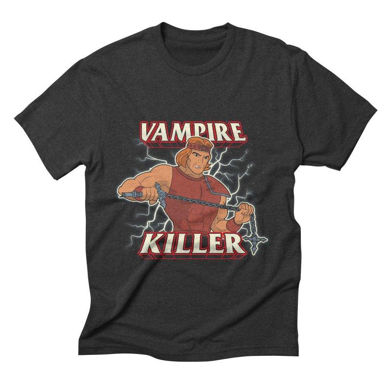 VAMPIRE KILLER Men's Triblend T-Shirt by UNDEAD MISTER