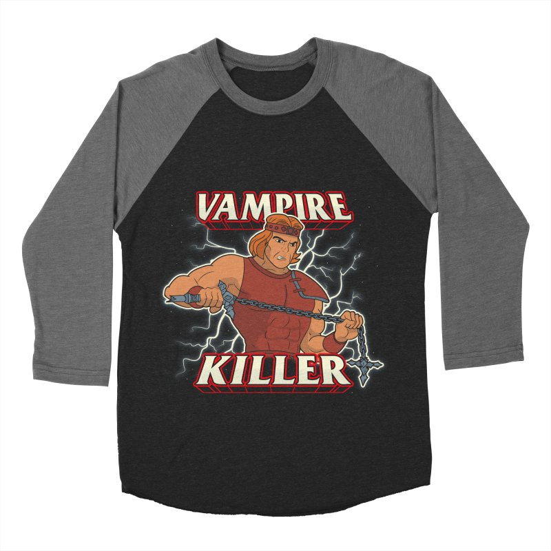 VAMPIRE KILLER Women's Baseball Triblend Longsleeve T-Shirt by UNDEAD MISTER