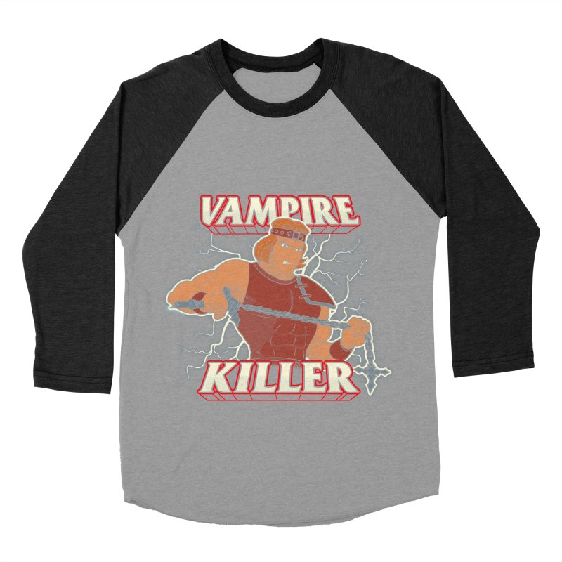 VAMPIRE KILLER Men's Baseball Triblend Longsleeve T-Shirt by UNDEAD MISTER
