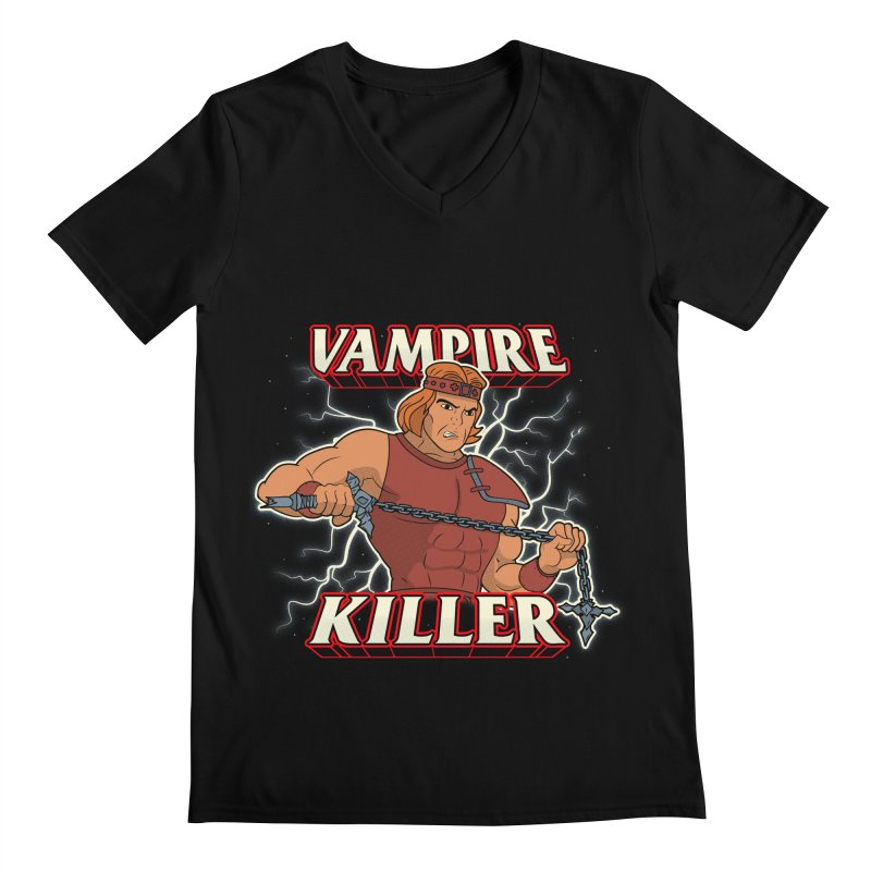 VAMPIRE KILLER Men's Regular V-Neck by UNDEAD MISTER