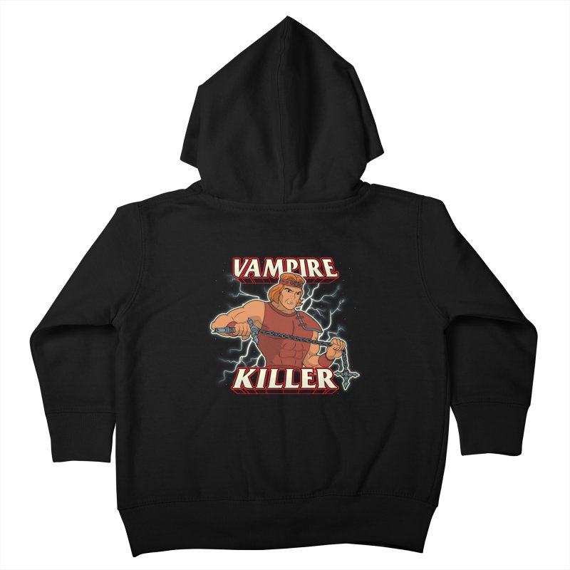 VAMPIRE KILLER Kids Toddler Zip-Up Hoody by UNDEAD MISTER