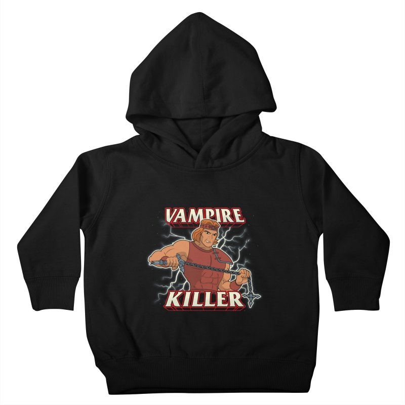VAMPIRE KILLER Kids Toddler Pullover Hoody by UNDEAD MISTER