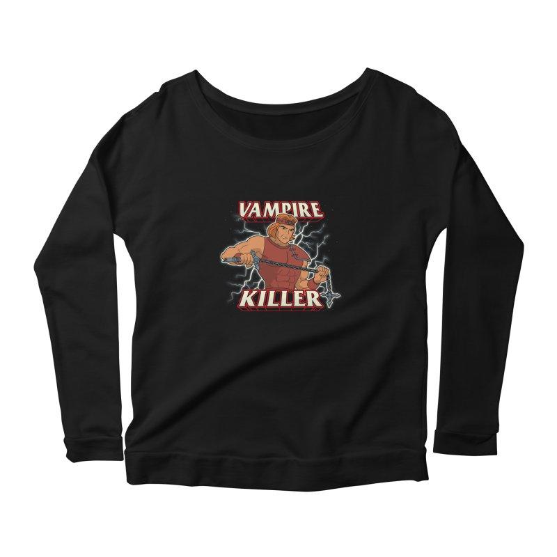 VAMPIRE KILLER Women's Longsleeve T-Shirt by UNDEAD MISTER