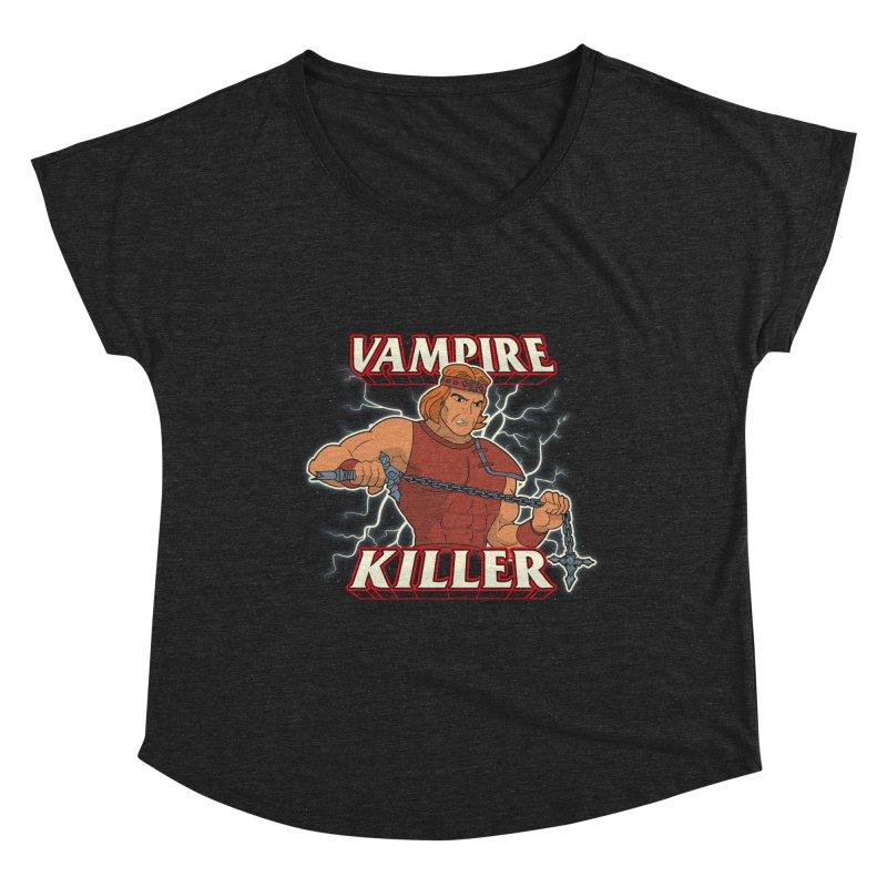 VAMPIRE KILLER Women's Scoop Neck by UNDEAD MISTER