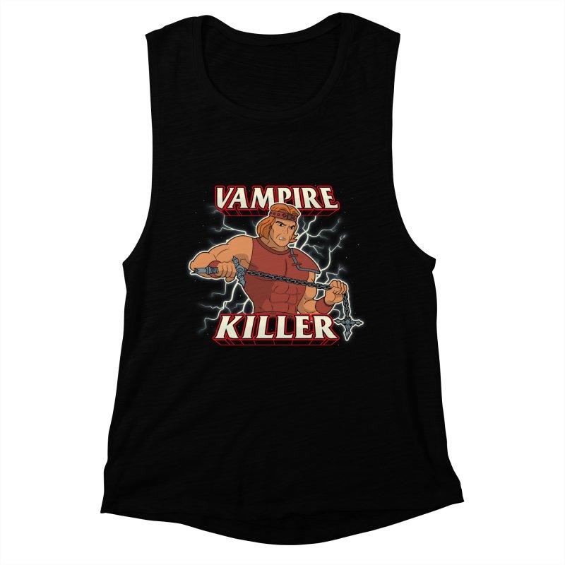 VAMPIRE KILLER Women's Muscle Tank by UNDEAD MISTER