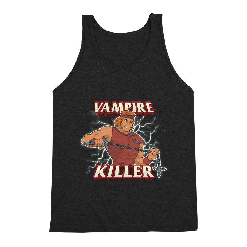 VAMPIRE KILLER Men's Triblend Tank by UNDEAD MISTER