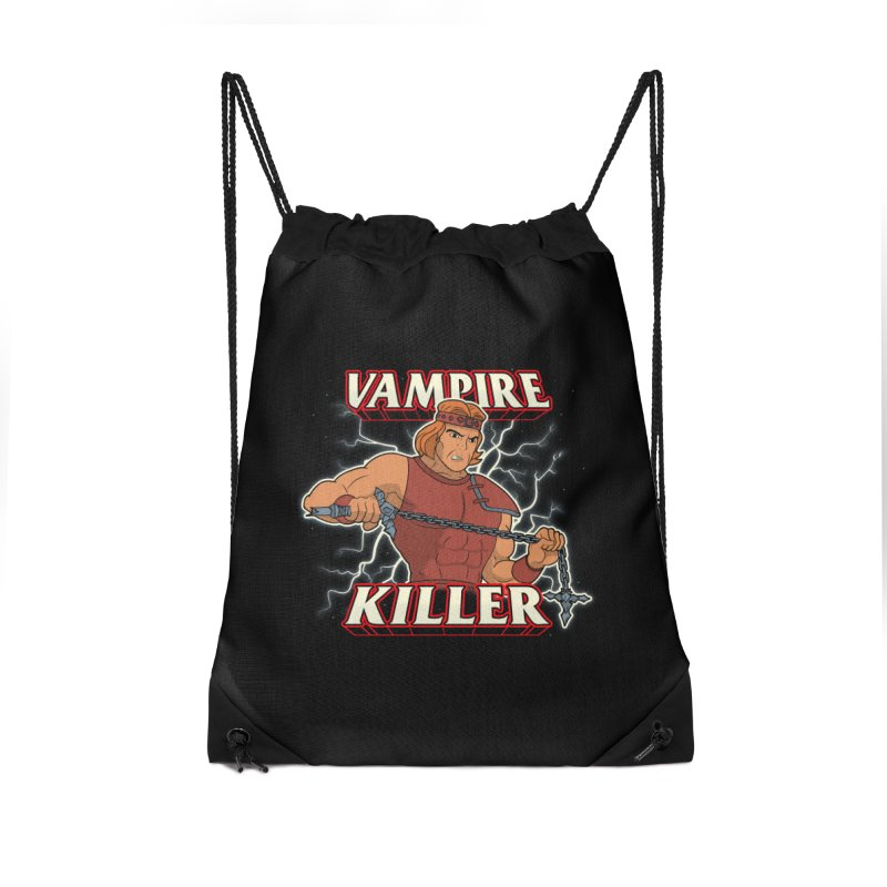 VAMPIRE KILLER Accessories Drawstring Bag Bag by UNDEAD MISTER