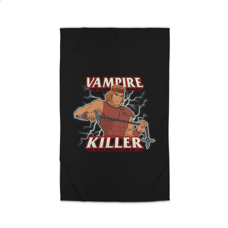 VAMPIRE KILLER Home Rug by UNDEAD MISTER