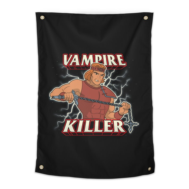 VAMPIRE KILLER Home Tapestry by UNDEAD MISTER