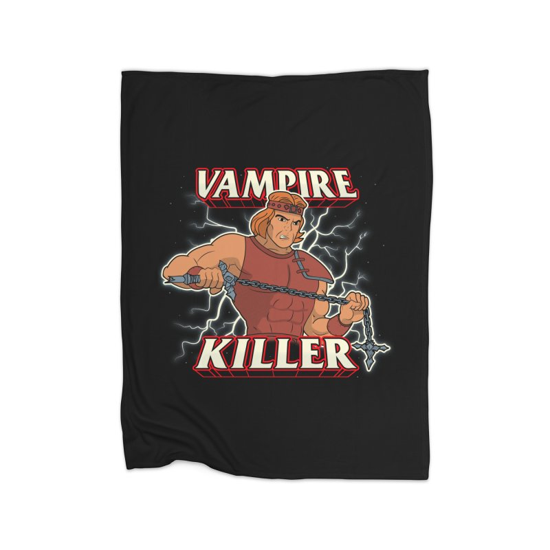 VAMPIRE KILLER Home Blanket by UNDEAD MISTER