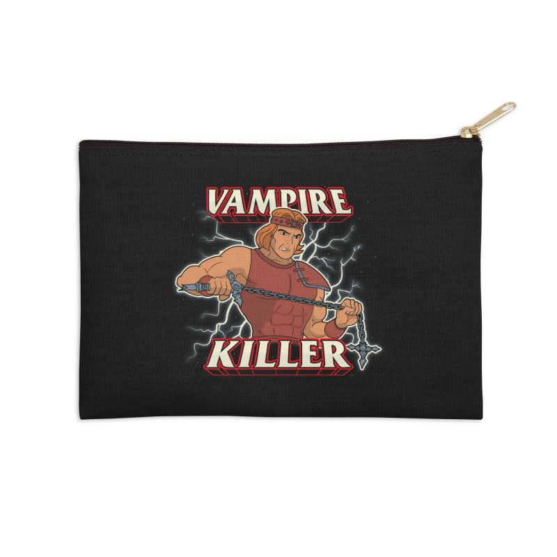 VAMPIRE KILLER Accessories Zip Pouch by UNDEAD MISTER