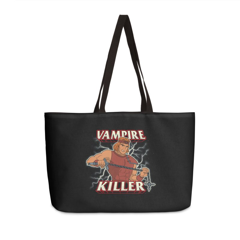 VAMPIRE KILLER Accessories Weekender Bag Bag by UNDEAD MISTER