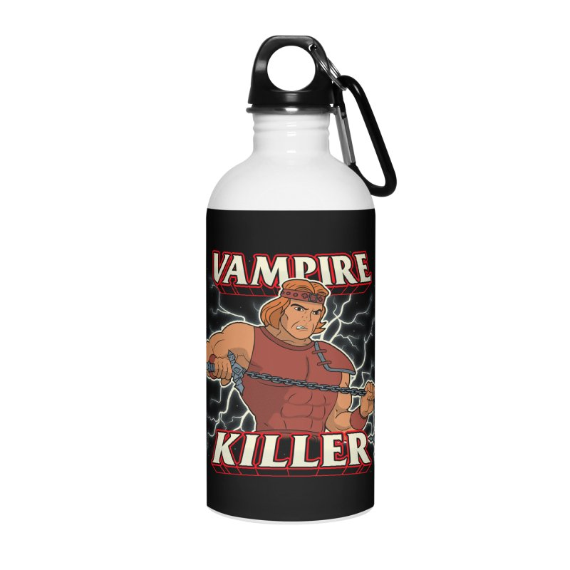 VAMPIRE KILLER Accessories Water Bottle by UNDEAD MISTER