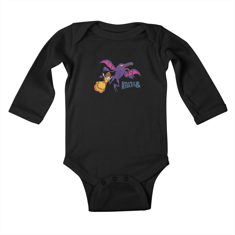 DAISY & RIDELY Kids Baby Longsleeve Bodysuit by UNDEAD MISTER