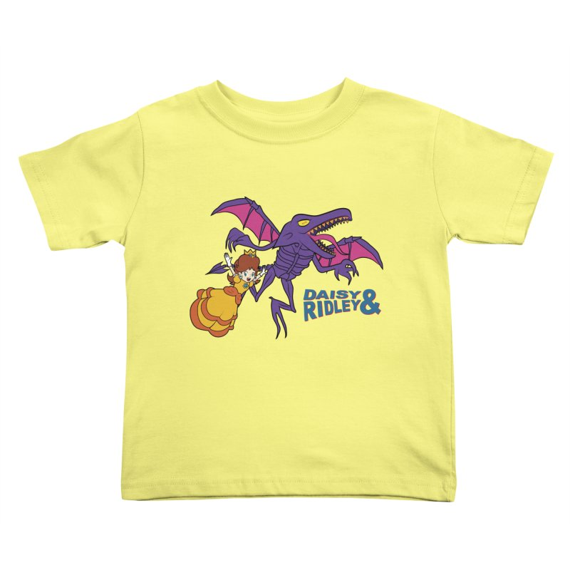 DAISY & RIDELY Kids Toddler T-Shirt by UNDEAD MISTER