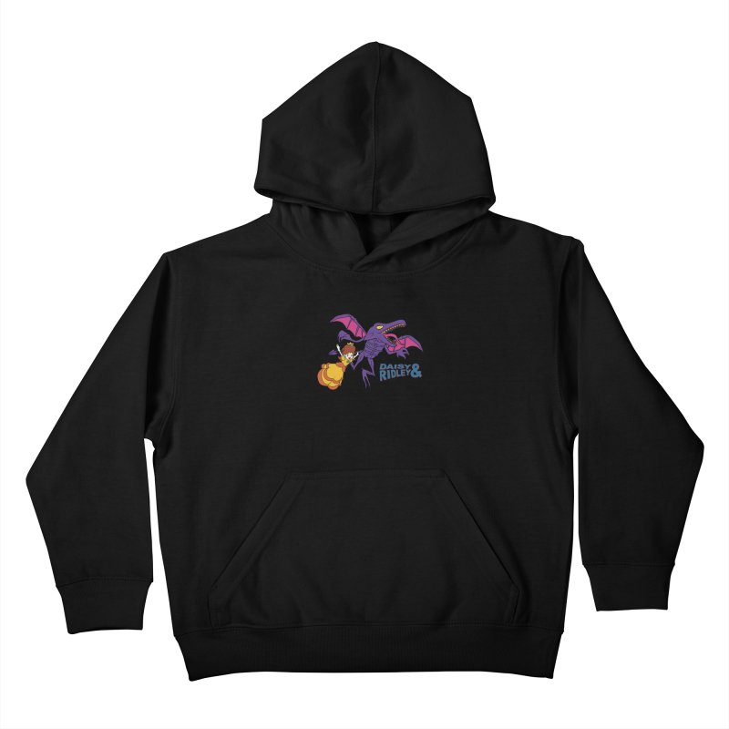 DAISY & RIDELY Kids Pullover Hoody by UNDEAD MISTER
