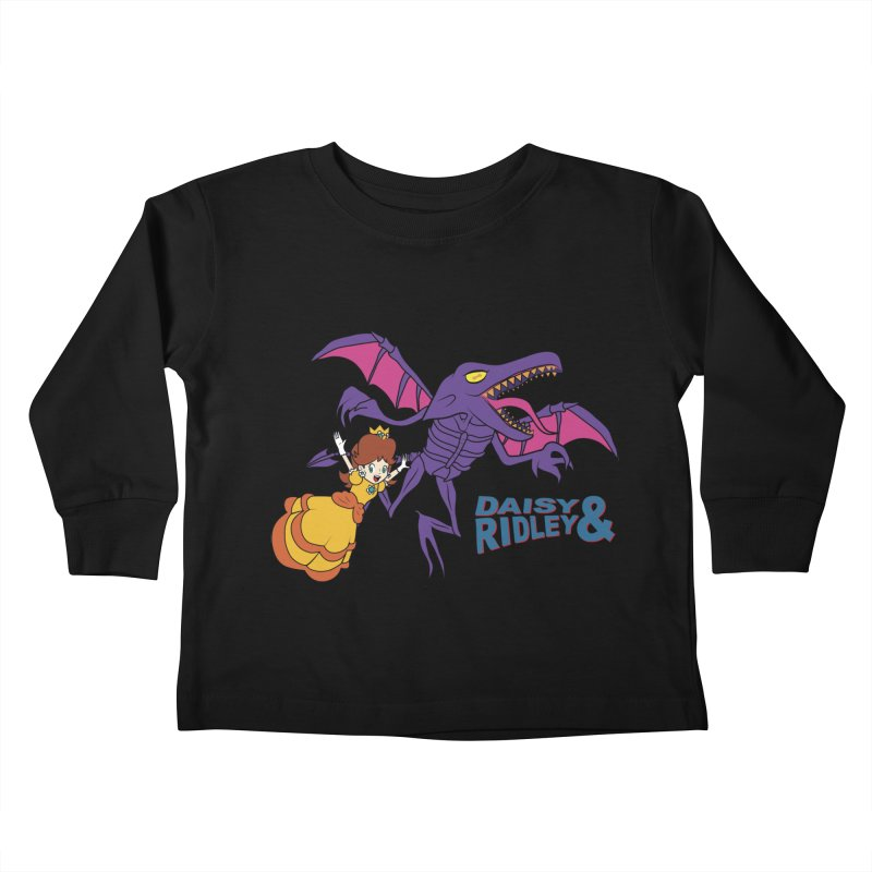 DAISY & RIDELY Kids Toddler Longsleeve T-Shirt by UNDEAD MISTER