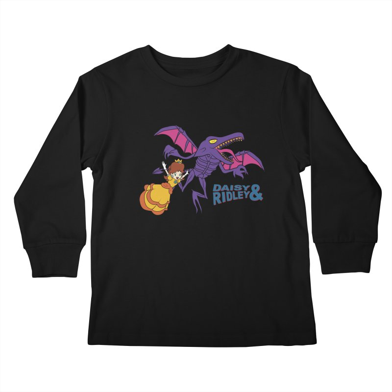 DAISY & RIDELY Kids Longsleeve T-Shirt by UNDEAD MISTER