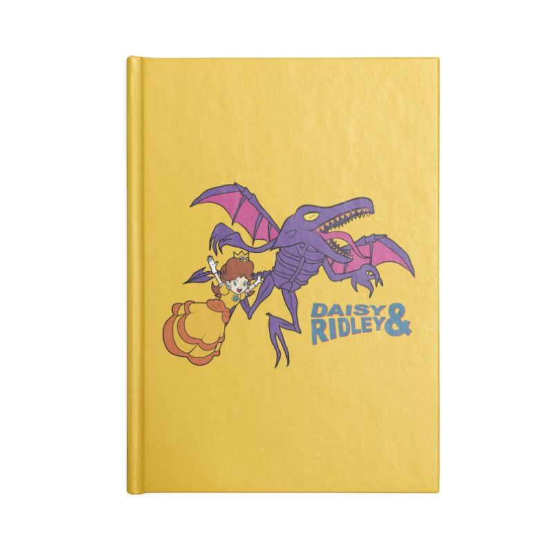 DAISY & RIDELY Accessories Blank Journal Notebook by UNDEAD MISTER