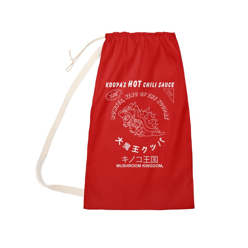KOOPA'S SRIRACHA Accessories Laundry Bag Bag by UNDEAD MISTER
