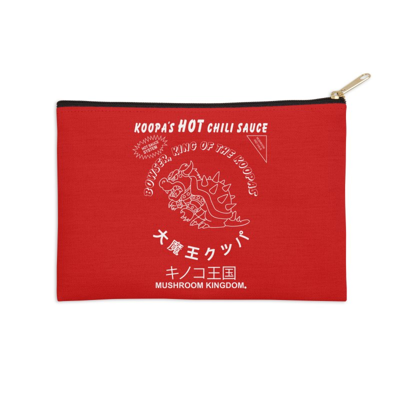 KOOPA'S SRIRACHA Accessories Zip Pouch by UNDEAD MISTER