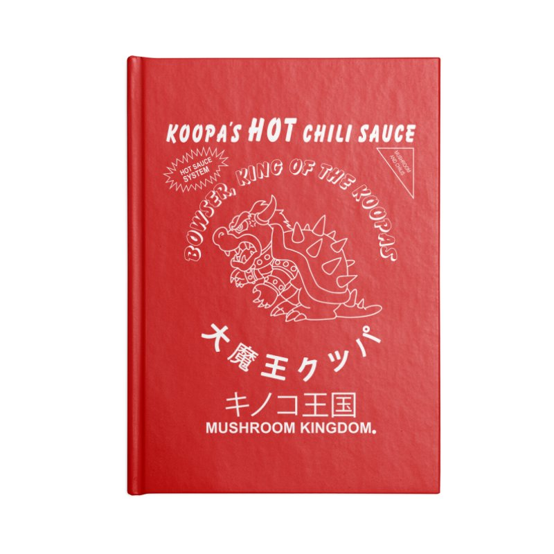 KOOPA'S SRIRACHA Accessories Notebook by UNDEAD MISTER