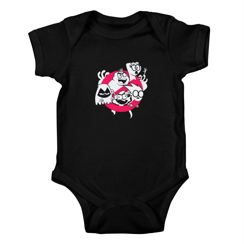 Ghoul Titans Ghouls! Kids Baby Bodysuit by UNDEAD MISTER