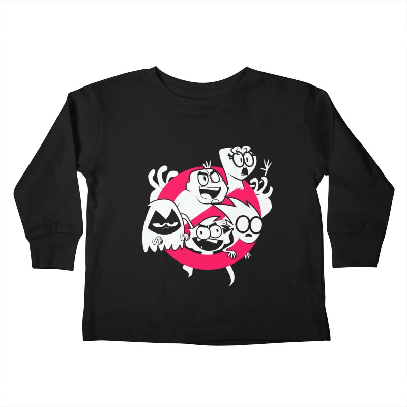 Ghoul Titans Ghouls! Kids Toddler Longsleeve T-Shirt by UNDEAD MISTER
