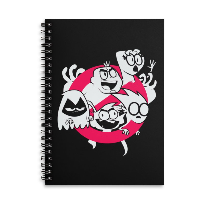 Ghoul Titans Ghouls! Accessories Lined Spiral Notebook by UNDEAD MISTER