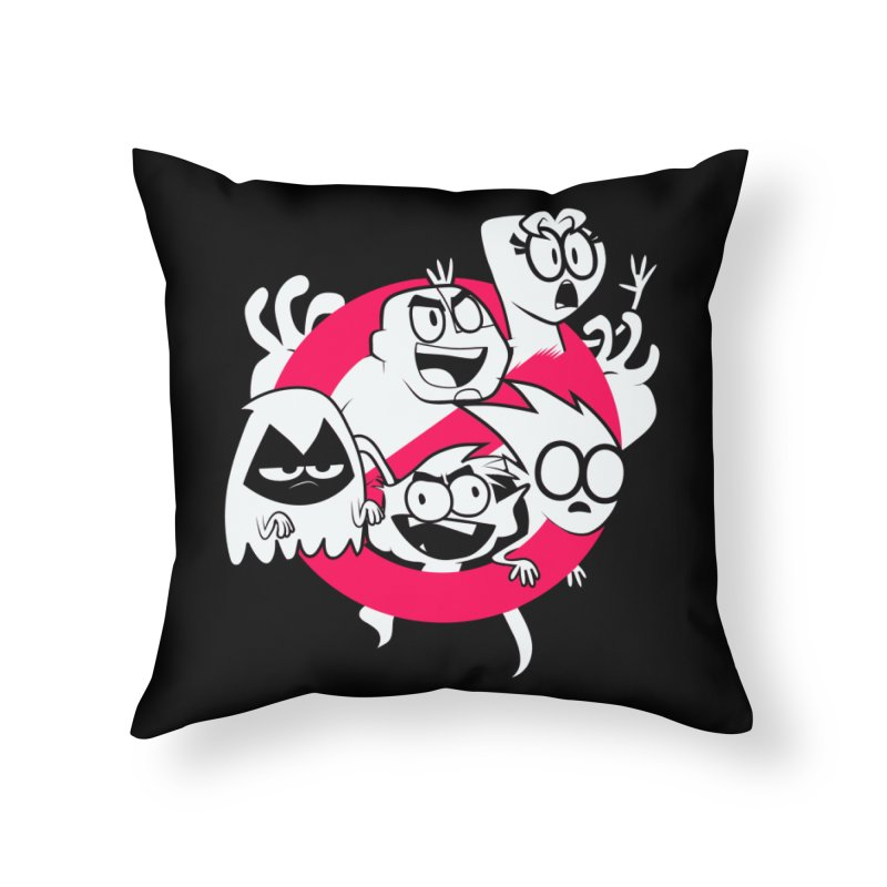 Ghoul Titans Ghouls! Home Throw Pillow by UNDEAD MISTER
