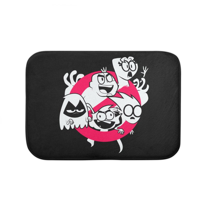 Ghoul Titans Ghouls! Home Bath Mat by UNDEAD MISTER