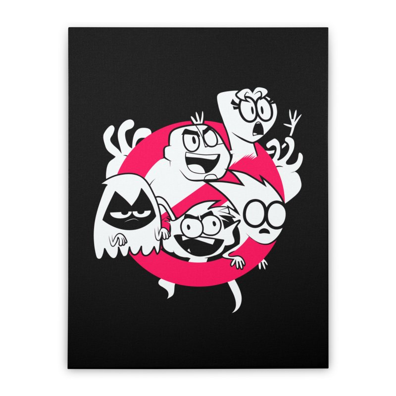 Ghoul Titans Ghouls! Home Stretched Canvas by UNDEAD MISTER