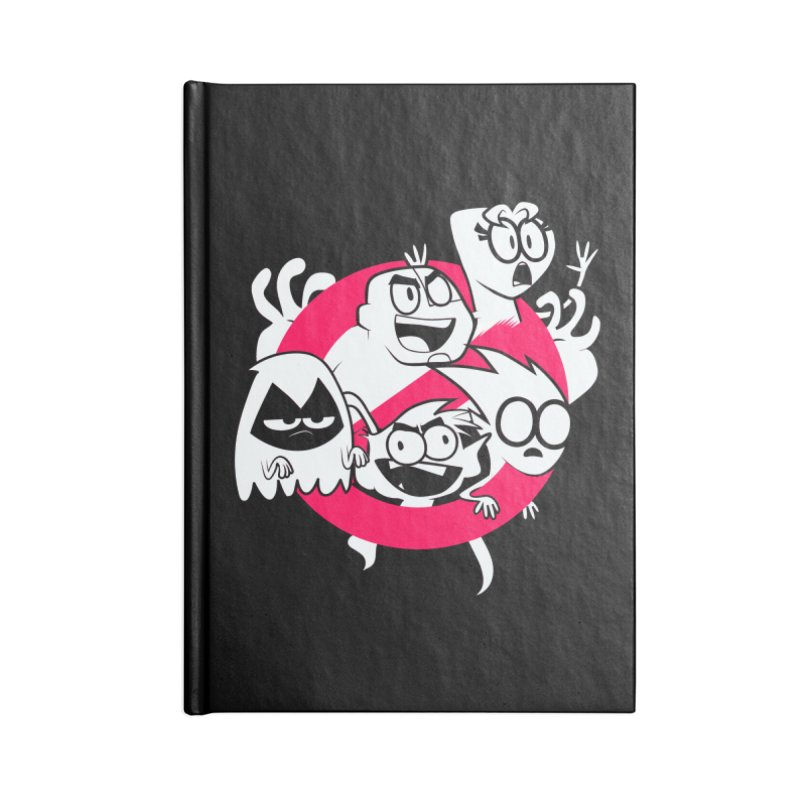Ghoul Titans Ghouls! Accessories Lined Journal Notebook by UNDEAD MISTER
