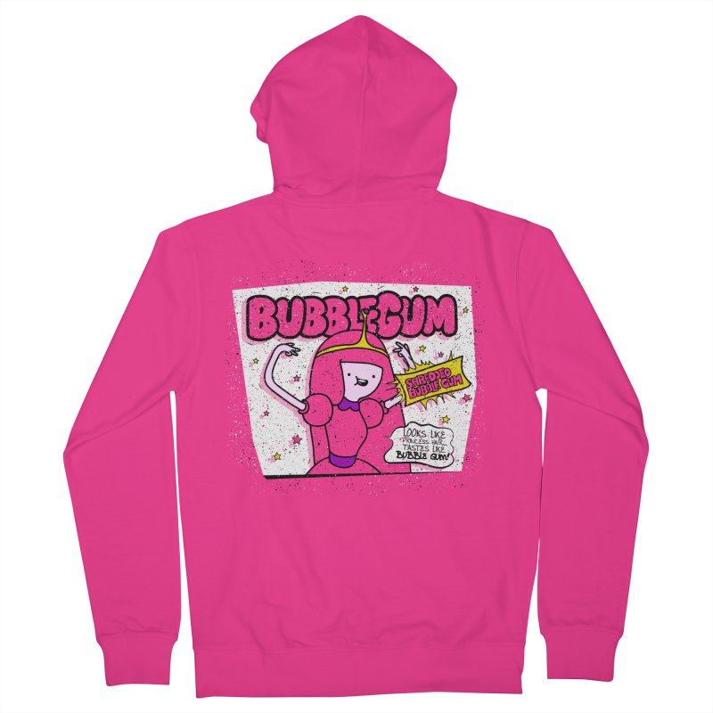 Bubble Gum, Gum! Men's French Terry Zip-Up Hoody by UNDEAD MISTER