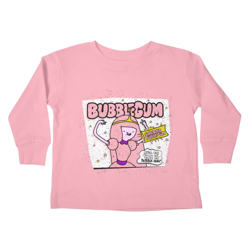 Bubble Gum, Gum! Kids Toddler Longsleeve T-Shirt by UNDEAD MISTER